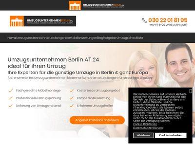 Umzugsunternehmen Berlin AT 24