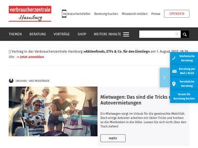 Verbraucherzentrale Hamburg e.V.