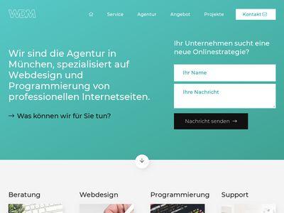 WDM Webdesign München