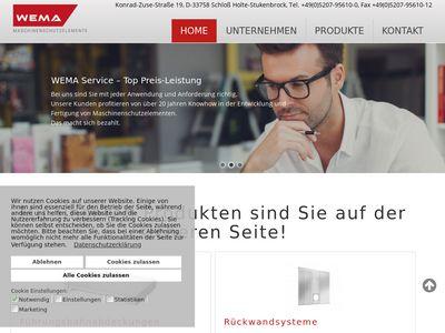 WEMA Maschinenschutzelemente GmbH & Co. KG