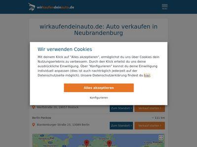 Wirkaufendeinauto.de Neubrandenburg