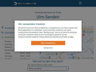 Wirkaufendeinauto.de Ulm-Senden