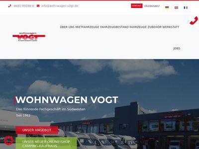 Wohnwagen Vogt