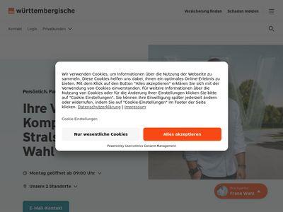 Württembergische Versicherung: Frank Wahl