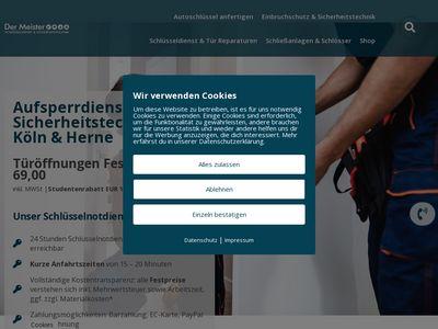 Der Meister Schlüsseldienst Köln