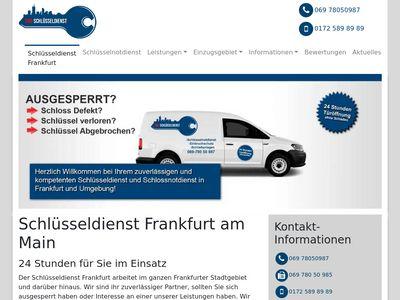 SOS - Schlüsseldienst Frankfurt