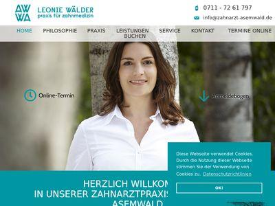 LEONIE WÄLDER - Praxis für Zahnmedizin