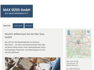 Süss Max GmbH KFZ-Reparaturwerkstatt