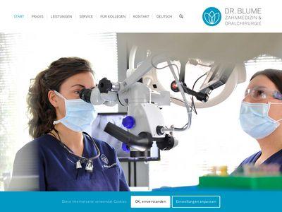 Dr. Blume - Zahnmedizin & Oralchirurgie