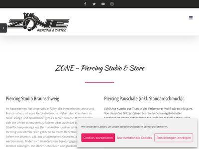 Zone Piercing Studio & Store Braunschweig