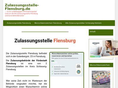 Kfz-Zulassungsstelle Hauptstelle Flensburg
