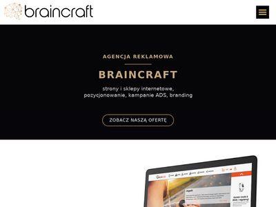 Agencja Reklamowa Braincraft - strony www Zabrze, Gliwice, Śląsk