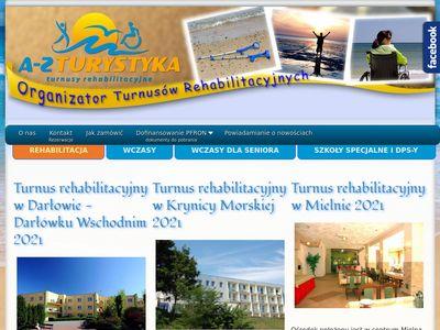 A-Z Turystyka.pl - Turnusy rehabilitacyjne i wypoczynkowe - Rehabilitacja