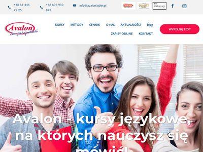 Angielski w Szkole Językowej Avalon w Lublinie