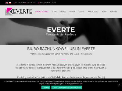 Everte - sprawdzone biuro rachunkowe w Lublinie