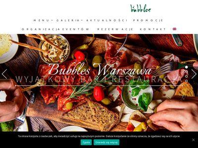 Najlepszy bar w Warszawie - Bar Bubbles