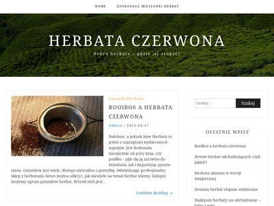 Blog o czerwonej herbacie