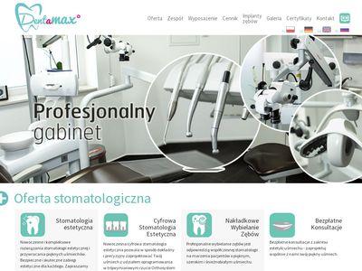 Dentysta Kraków, Implanty zębów - Dentamax