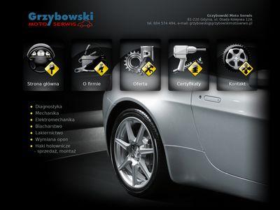 Grzybowski Moto Serwis Diagnostyka Mechanika Elektromechanika Blacharstwo Lakiernictwo Gdynia Gdańsk
