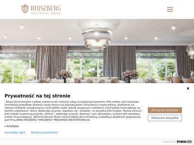 Projekty wnętrz Hirszberg