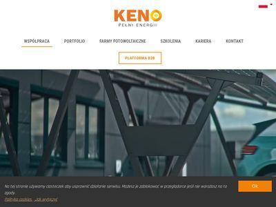 KENO - Fotowoltaika, kolektory słoneczne