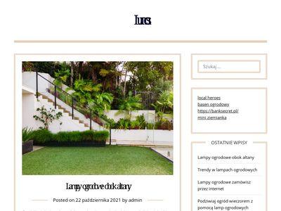 Lumos.shop.pl - ogrodowe lampy zewnętrzne