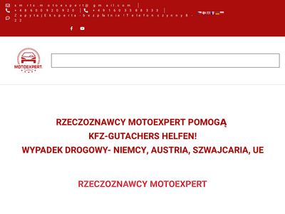 Rzeczoznawca Samochodowy w Niemczech - Sieć MOTOEXPERT