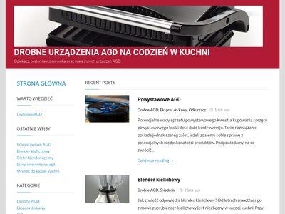 Opiekacz.eu - blog o drobnym sprzęcie AGD