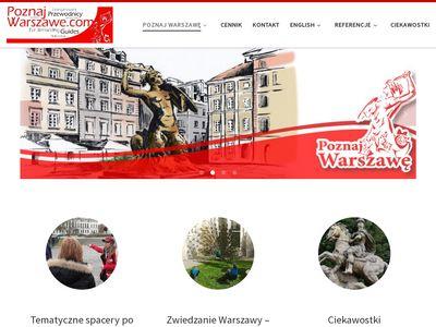 Przewodnik po Warszawie - zwiedzanie Warszawy z przewodnikiem