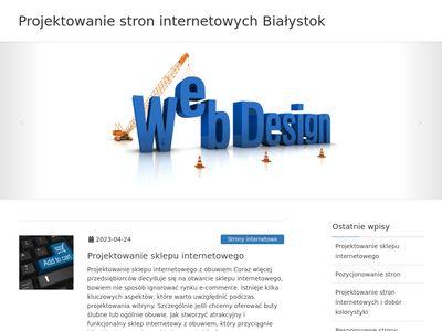 Projektowanie stron Białystok