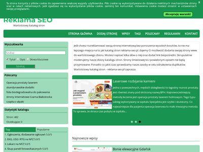 Moderowany katalog stron