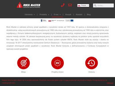 Usługi alpinistyczne - rockmaster.com.pl