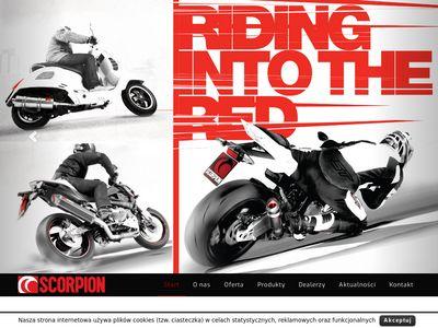 SCORPION - wydechy i tłumiki motocyklowe