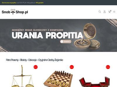 Prezenty, bibeloty, dekoracje - Snob-Shop.pl