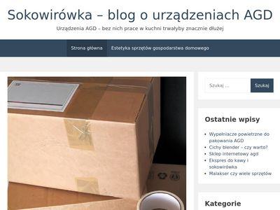 Sokowirówka - blog