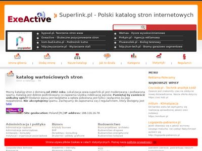 Superlink. Polski katalog stron internetowych