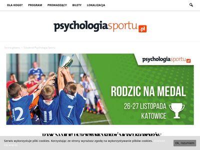 Szkolenie z psychologii sportu