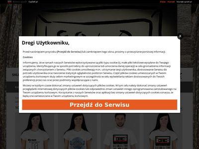 Śmieszne koszulki Sztabka.cupsell.pl