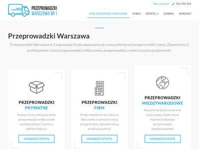 Przeprowadzki Warszawa nr.1