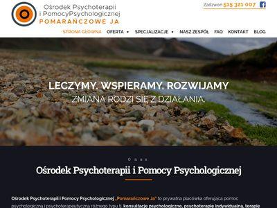Pomarańczowe Ja - Ośrodek Psychoterapii i Pomocy Psychologicznej
