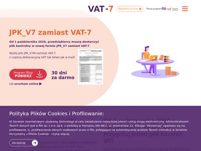 VAT 7 online