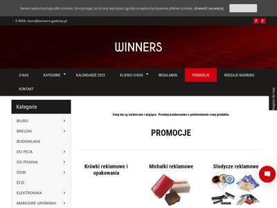 Winners-Gadżety Sklep z Gadżetami reklamowymi