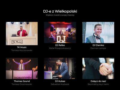 DJ Wielkopolska - Profesjonalni DJ-e z wielkopolski
