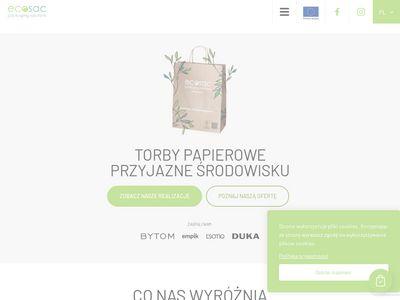 Ecosac.pl - Tanie torby papierowe