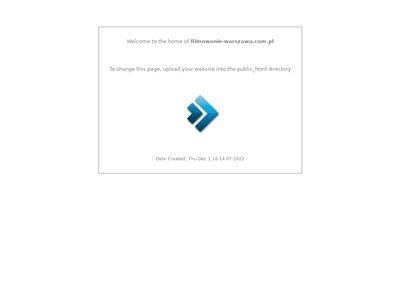 Filmowanie teledysków Warszawa