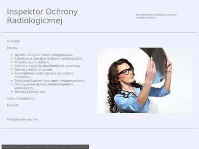 Gabinet RTG - kompleksowa obsługa gabinetów rentgenowskich