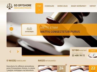 Go Offshore - Prawo ochrony środowiska