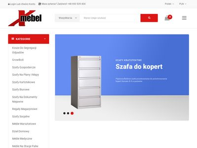 Szafy medyczne - www.xmebel.pl