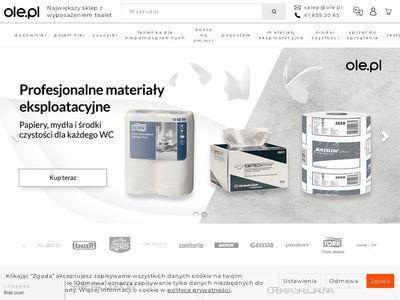 OLE.PL Wojciech Apola | wyposażenie toalet publicznych