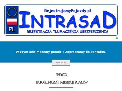 Intrasad - biuro tłumaczeń i rejestracji pojazdów